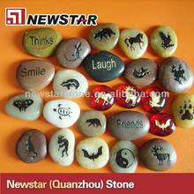 Newstar natural lettering pebble stone