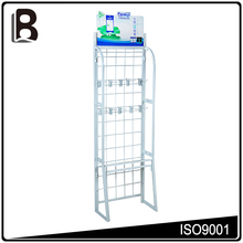 New style professional wholesale floor display with hook