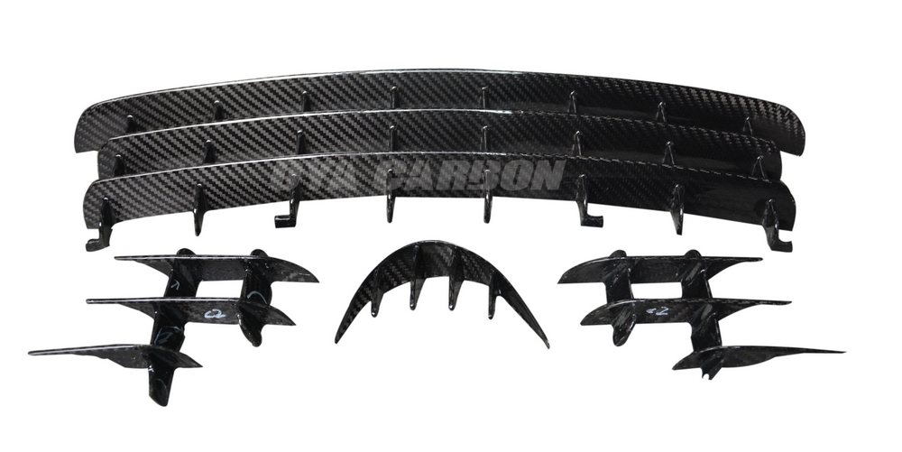 Carbon fiber Air deflectors for Lotus Elise 2004