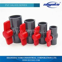 Astm/Din Standard Original Pvc Ball Type 3/4