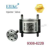 ERIKC 9308 621C Diesel Injector Valve 9308-621C 28239294 28440421 Common Rail Injection Valve 9308Z621C 28538389 Black Coating