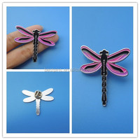 dragon fly lapel pin soft enamel metal badge