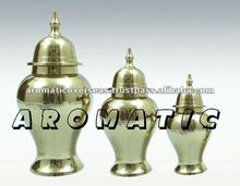 Shiny Cremation Urn Pet Jar