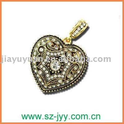 Golden Promotion Jewelry usb/bulk 2gb heart shape USB flash drive 2.0,usb stick sample available