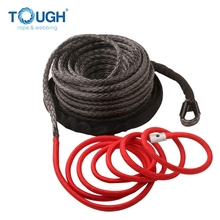 12000-15000lbs 12V 4x4 off road electric winch used synthetic winch rope with accessories as finished set
