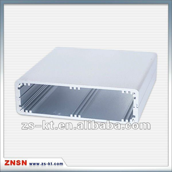 Two parts siliver anodizing aluminum enclosure/shell/box