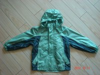factory sale kids rain jacket