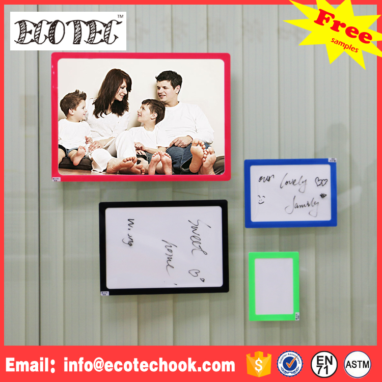 2016 latest plastic photo insert paper wall picture frames