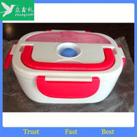 Promotional Wholesale 1-2-3 compartments collapsible electric lunch box 2