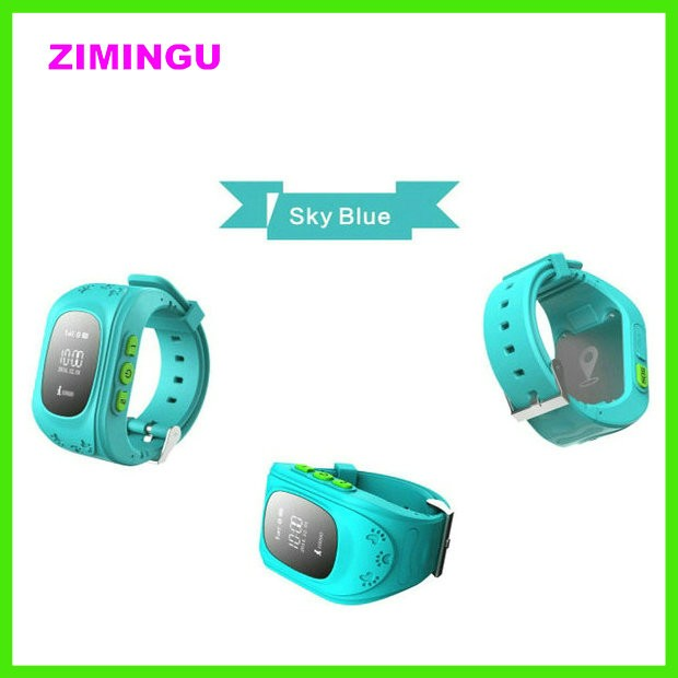 Electronic GPS Tracker Kids Smart Watch Interactive with APP, Parents Control and Mutifunction