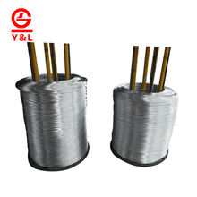 Factory price galvanized electric coated iron wire