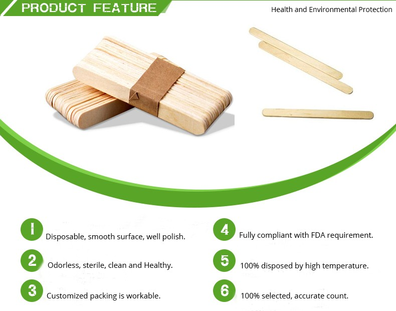 Excellent quality wood ice cream sticks machine for Sushi