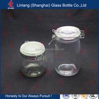 High whiteness small glass bottle wooden cork stopper 50ml glass dropper bottle