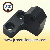 Jane portable fixed rocker arm high quality aluminum alloy black hard anodic CNC processing custom parts