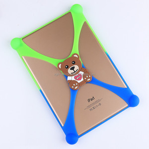 Multifunction Silicone Rubber Tablet Case/Suitable for 7~10.1 inches iPad or tablet