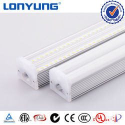 100 lm/w India Double Integrated T5 LED Fixture 1200mm 1.2m 4ft Dual T5 LED Fluorescent Tube