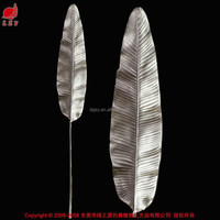 Real touch artificial leaves artificial decorative leaf artificial banana leaf