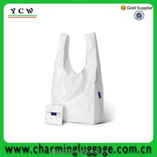 fabric reusable luxury shopping bag/cotton foldable shopping bag