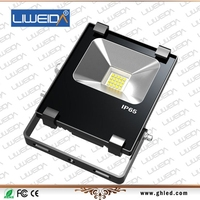 High quality Water proof IP65 Meanwell driver 10 watt led flood light