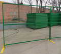 6X10ft Temporary Modular Fence Panels Powder-coated Steel Temporary Fencing