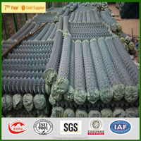 PVC Chain Link Fence cheap for construction China FACTORY