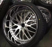 3 pcs deep lip forged alloy wheel /forged rim