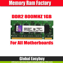 5 YEARS warranty 64mbx8 1gb 800mhz ddr2 notebook ram memory