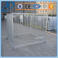 Hot sell foldable wire mesh dog cage and strong stainless steel dog cage