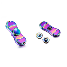 Fidget Hand Spinner Finger Two-Spinner Gyroscope Beyblades Metal Fidget Spinner Toys Spinning Top BT001