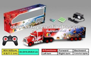 1:36 4 Channel R/C Truck with Light and Charger