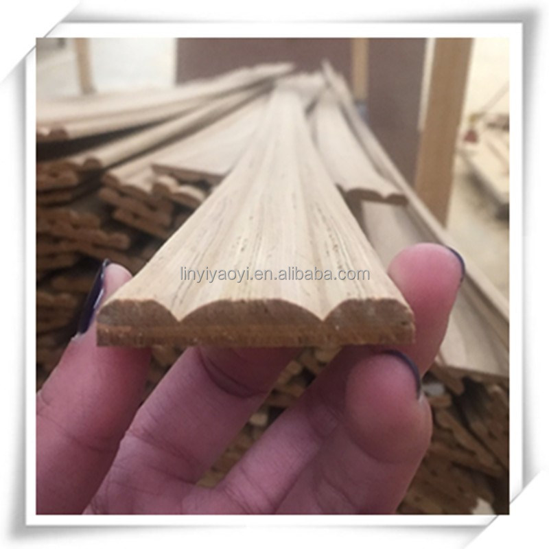 low price engineered wood decorative furniture moulding