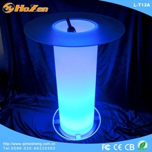 Supply all kinds of pvc LED table sheet,interactive LED table windows