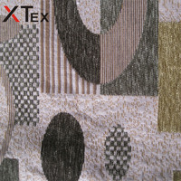 geometric pattern microfiber chenille fabrics product type on upholstery for sale