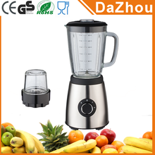 Factory Price 500W 2 Speeds And pulse Electric Nutri Blender With Grinding And 1.5L Glass Jar