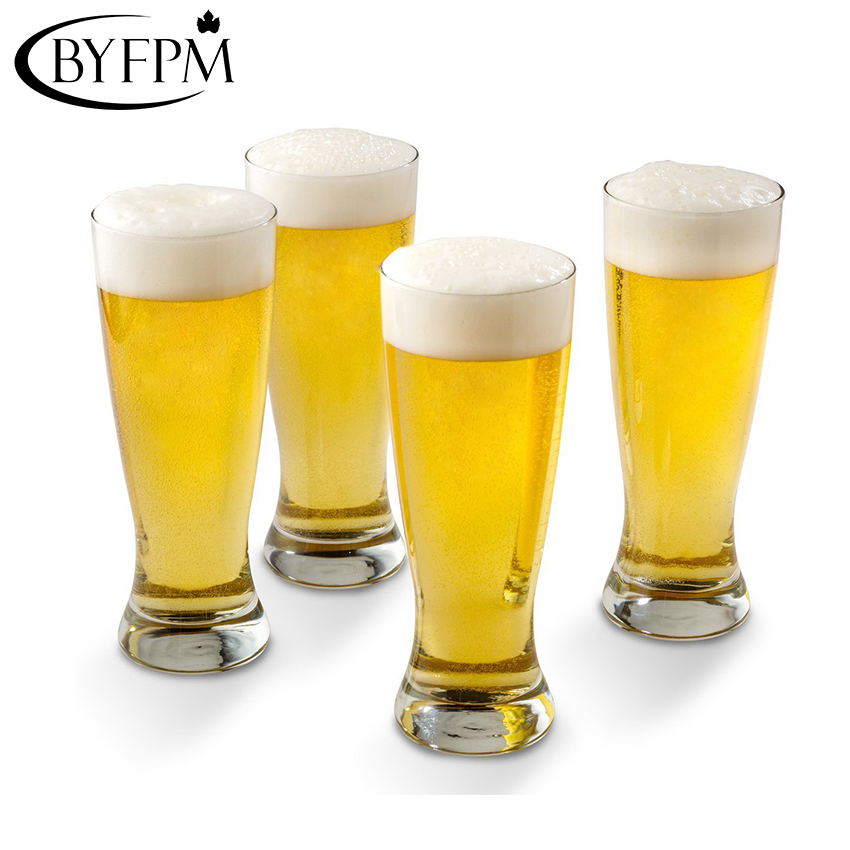 BYFPM Wholesale Unbreakable 340ML PC Plastic Material Tea Milk Juice Beer Drinking Highball Glass