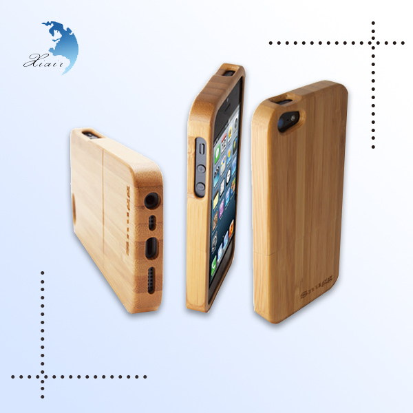 Wholesale custom really Natural Wooden Phone Case