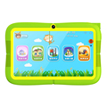 Hot sale RK3126 quad core Android 4.4 512MB 8GB Bluetooth WIFI Childrens education Learning Kids 7 inch Tablet