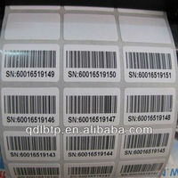 Barcode labe barcode printer label rolls black adhesive roll adhesive label