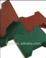 Recycled rubber flooring bricks for gym/Recycle rubber paving bricks for horse