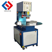 Automatic round table pvc blister heat sealing machine for packing battery