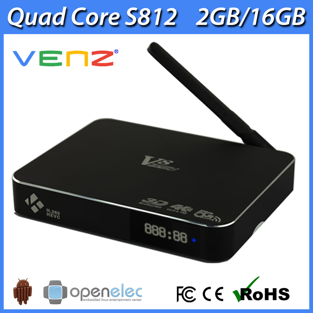 Venz V8 S812 android and linux os dual boot tv box