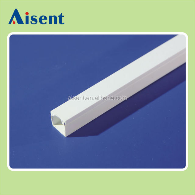 16X16mm size pvc electrical trunking for electricals