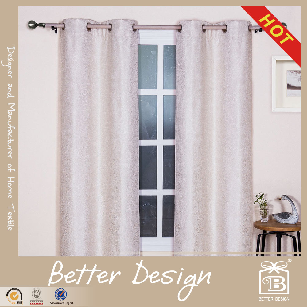 2PC CHENILLE CUSTOM MADE CURTAINS AND DRAPES FOR HOTEL