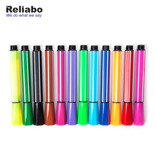 Reliabo Best Quality Classic Stripe Colorful Mini Dry Erase Whiteboard Markers Pen