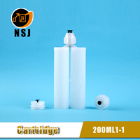 200ml 1:1 Plastic empty glue stick container