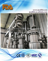 FDA and GMP pharmaceutical and drink machine Multi-effect multiple effect distiller and WFI distiller