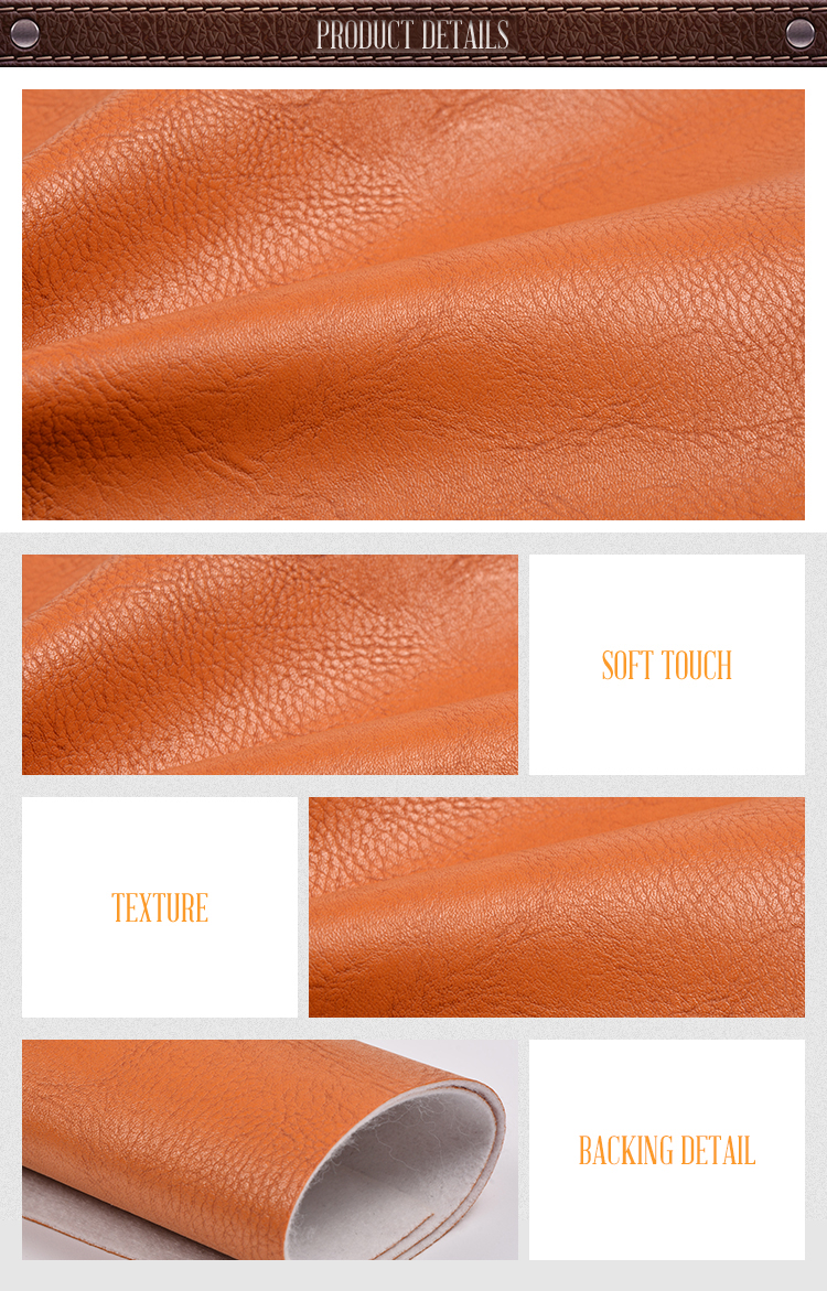 New Product Furniture Home Anti-Mildew Microfiber Leather