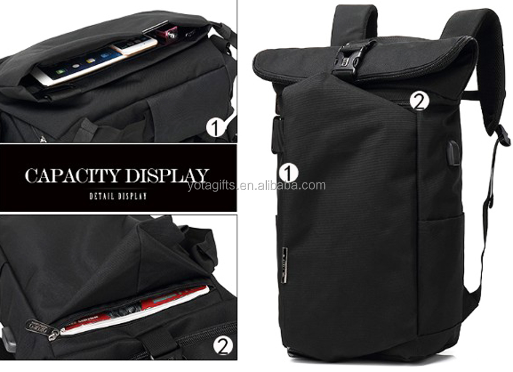 New design high quality USB multipurpose laptop backpack