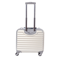 Wholesale portable luggage abs+pc suitcase cheap luggage bags business trolley luggage suitcase