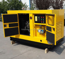 Global Service Prompt Delivery Time Automatic silent diesel generator 15kva